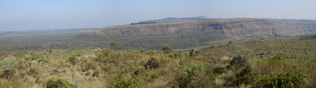 View of the crater at Menengai, Kenya, where Sam Abraham, Business Development Manager at Baker Hughes was just traveling on geothermal business. Photo: Sam Abraham