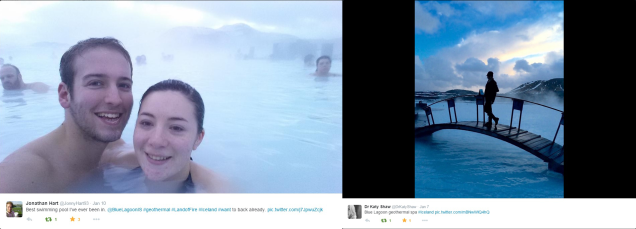 Geothermal photos via Twitter users @JonnyHart93 and @DrKatyShaw