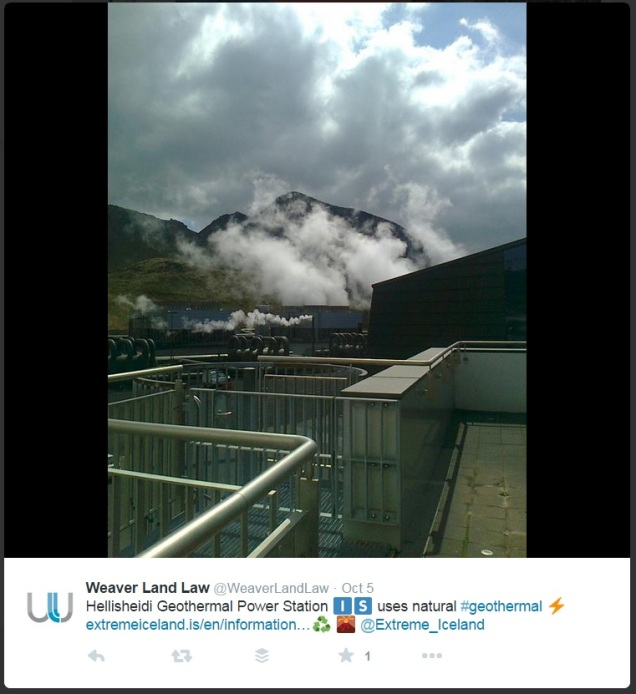 Geothermal photos via the Twitter community
